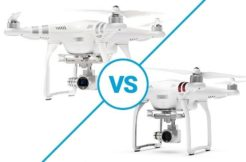 Porovnani DJI Phantom 3 Advanced vs Standard