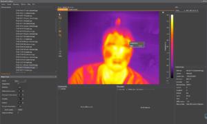 Workswell Wiris 640 – CorePlayer, úprava snímků 1