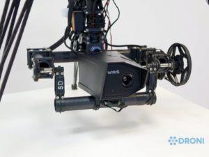 Workswell Wiris 640 – konstrukce, uchycení na drona 1