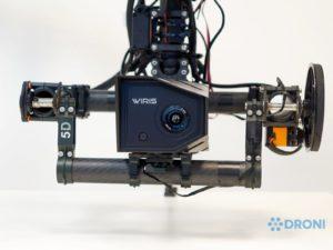 Workswell Wiris 640 – konstrukce, uchycení na drona 2