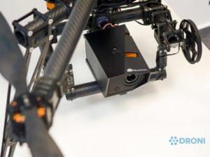 Workswell Wiris 640 – konstrukce, uchycení na drona 3