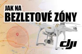 létání v zakázaných zónách