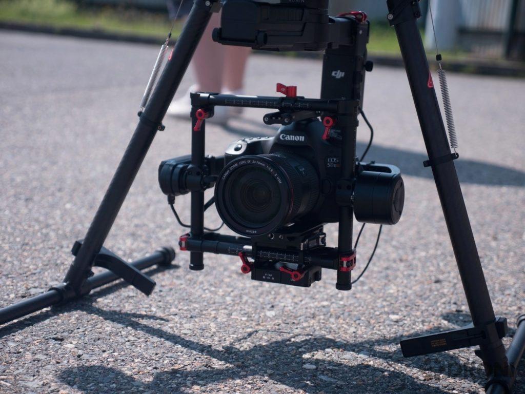 DJI Matrice 600 - kamera a stabilizace 1