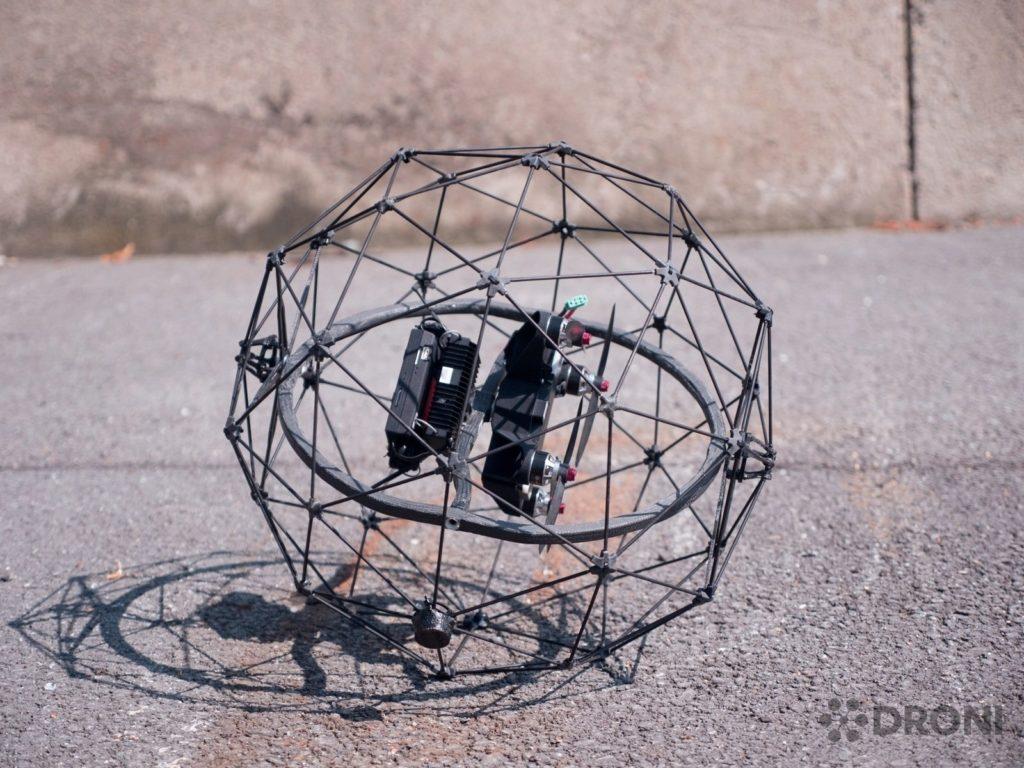 Flyability Elios - konstrukce 1