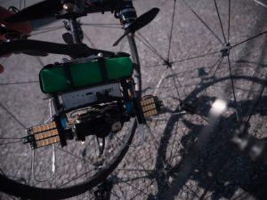 Flyability Elios – konstrukce, LED 1