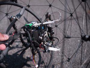 Flyability Elios – konstrukce, elektronika