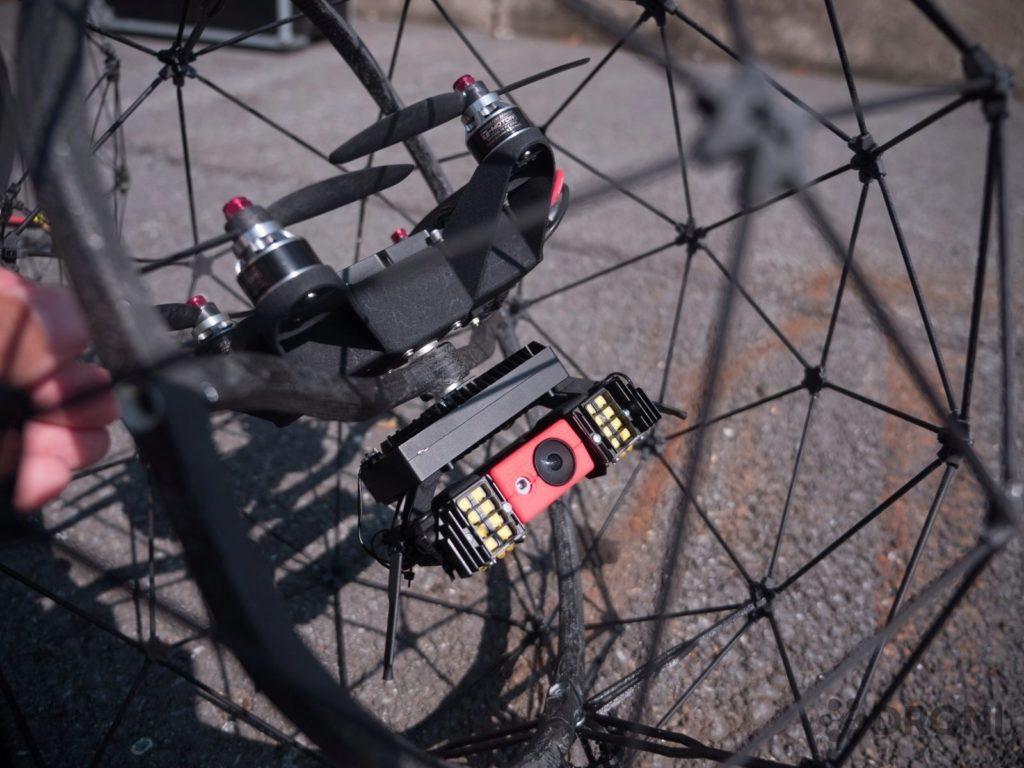 Flyability Elios - konstrukce, kamera 1