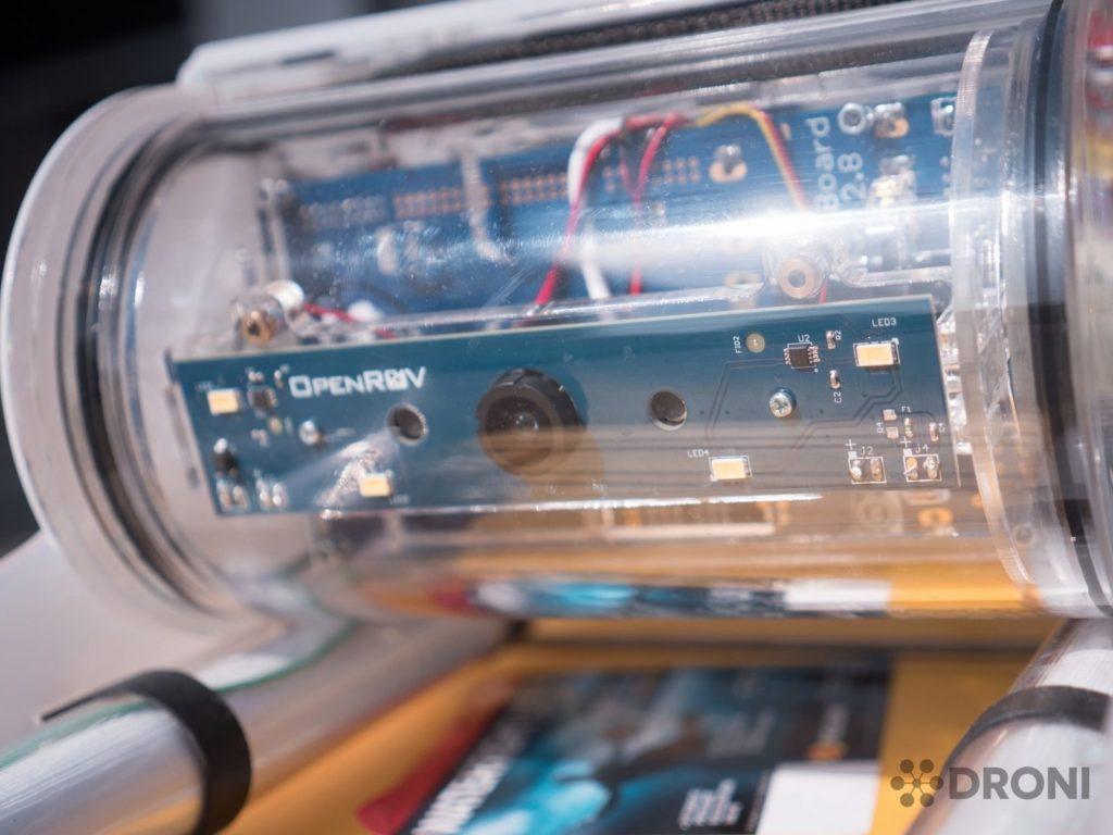 OpenRov 2 - konstrukce, kabina 2