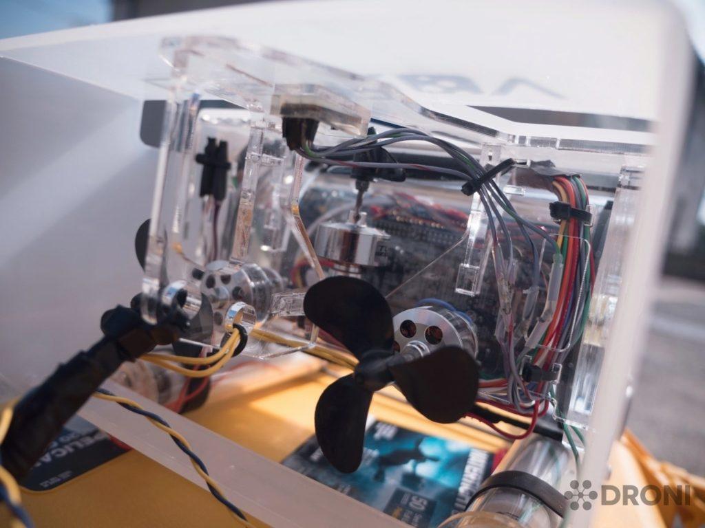 OpenRov 2 - konstrukce, motory