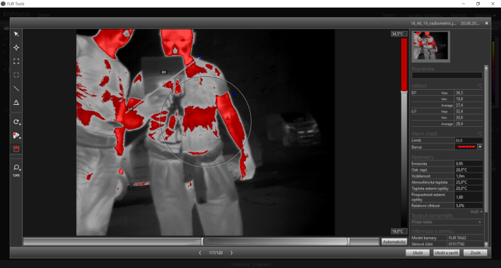 Workswell Thermal Vision Pro - Flir Tools (2)