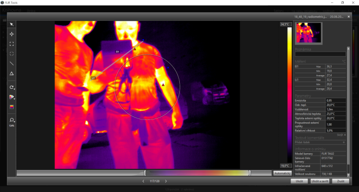 Workswell Thermal Vision Pro - Flir Tools