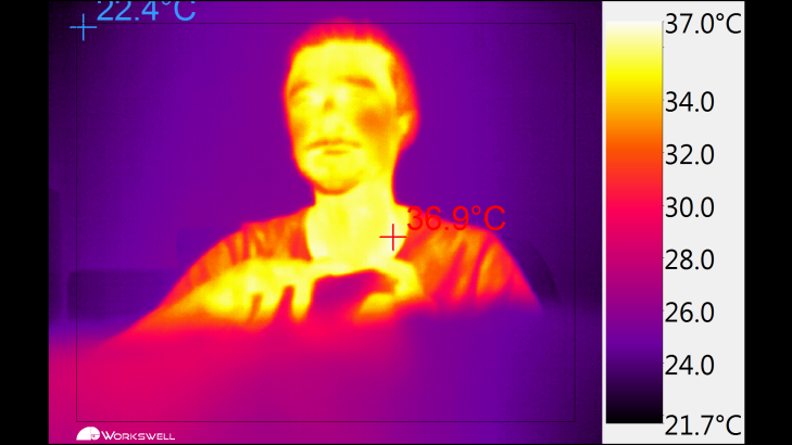 Workswell Thermal Vision Pro - nastavení (1)