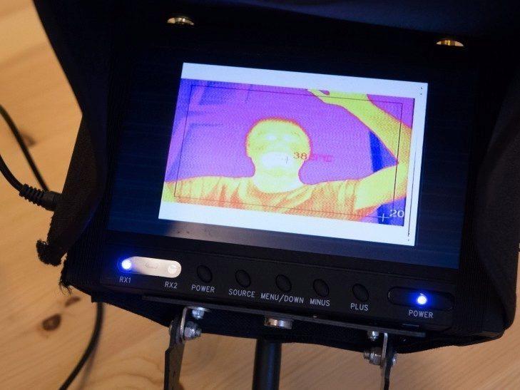 Workswell Thermal Vision Pro - ovládání