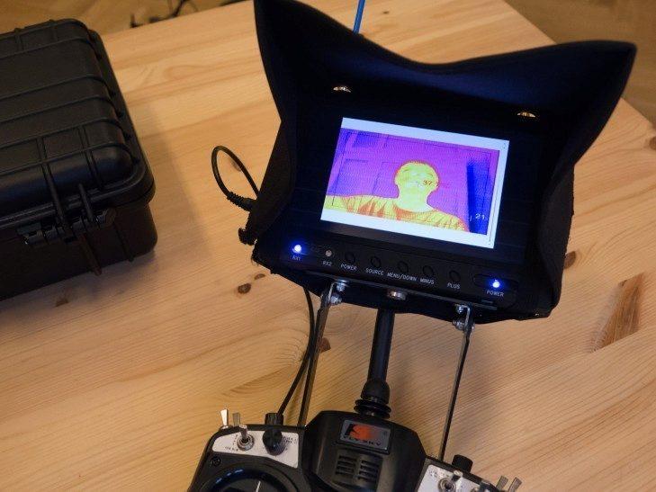 Workswell Thermal Vision Pro - ovládání RC
