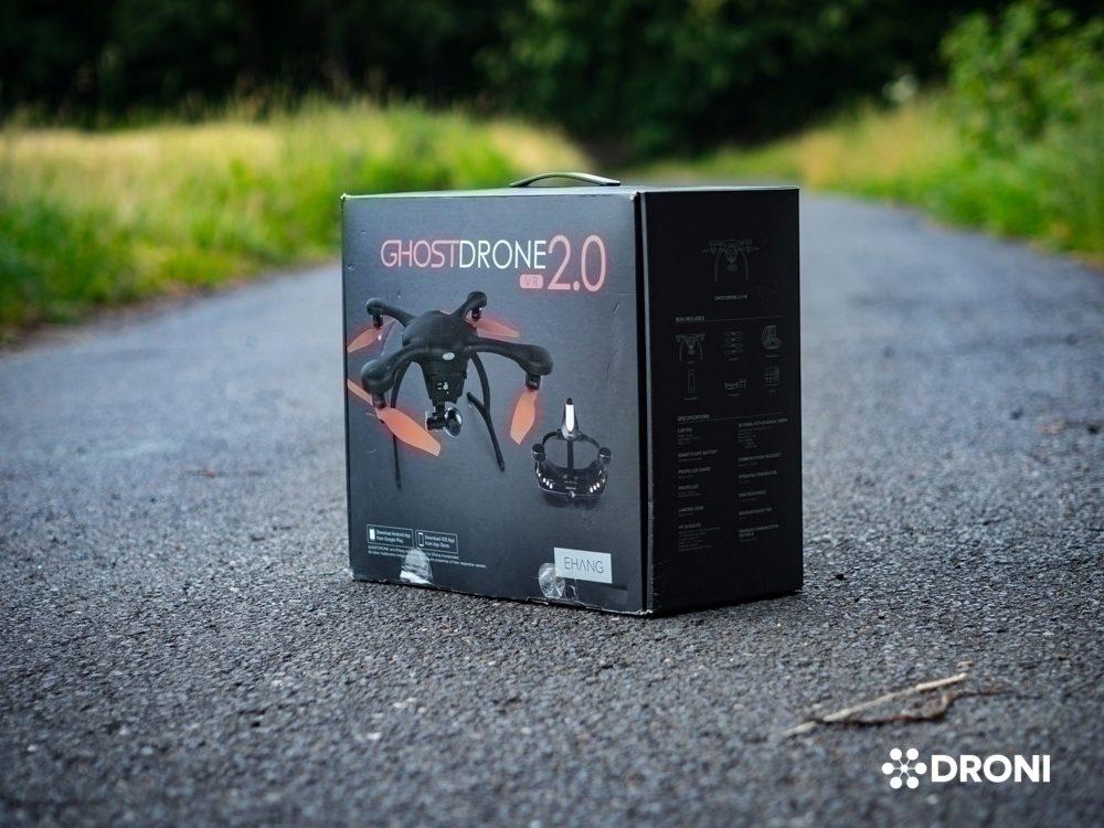 Ehang Ghostdrone 2.0 recenze balení