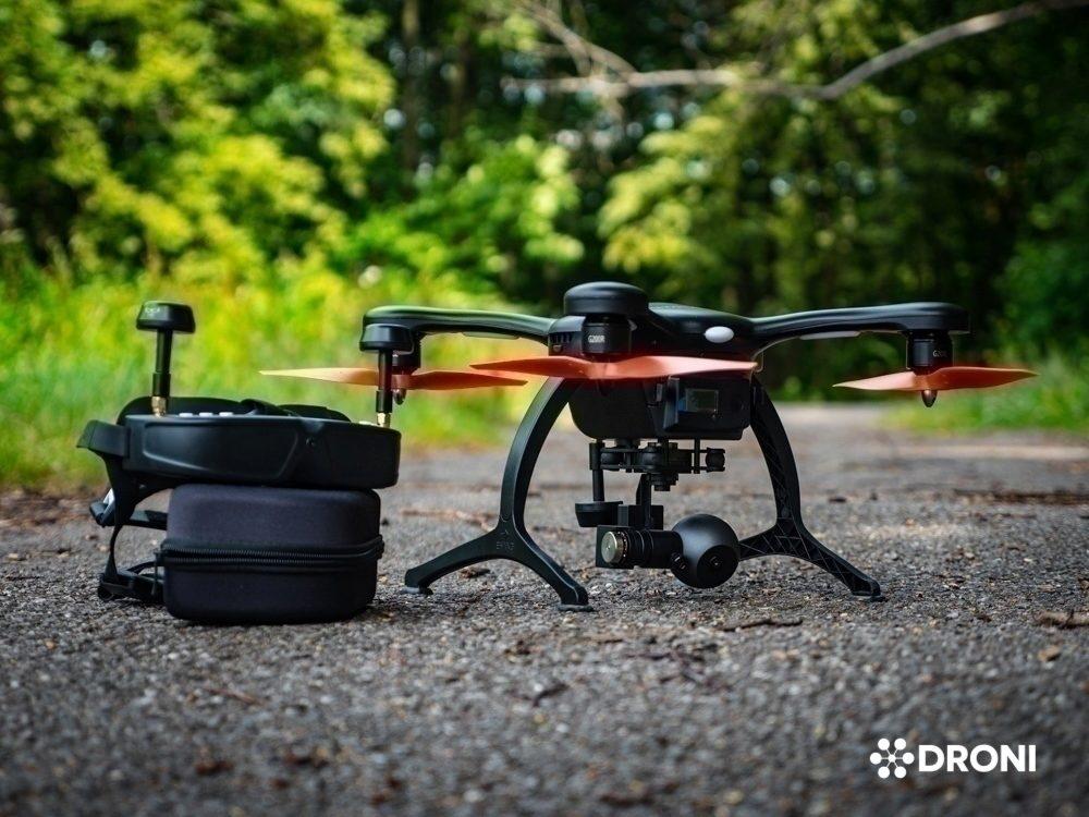 Ehang Ghostdrone 2.0 recenze dron s brýlemi