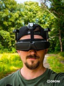 Ehang Ghostdrone 2.0 recenze fpv bryle ze předu