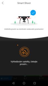 Ehang Ghostdrone aplikace varování