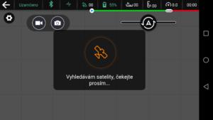 Ehang Ghostdrone aplikace vyhledávání GPS
