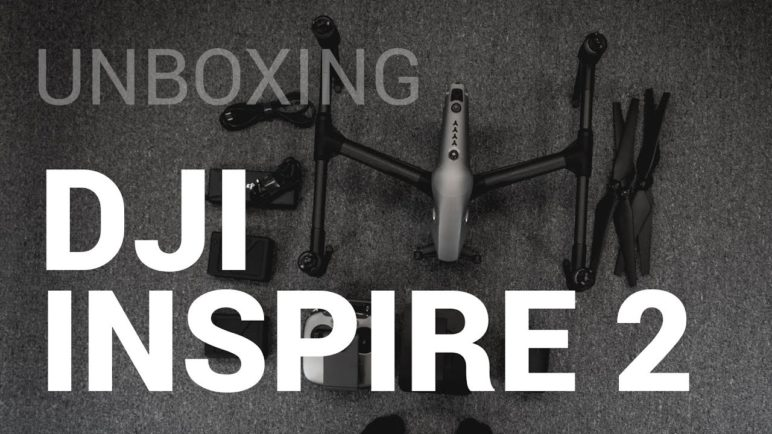 DJI Inspire 2 - unboxing (CZ/česky)