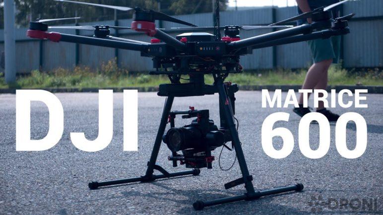 DJI Matrice 600 - profesionální dron