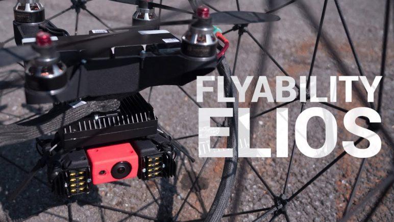 FlyAbility Elios - dron v kleci
