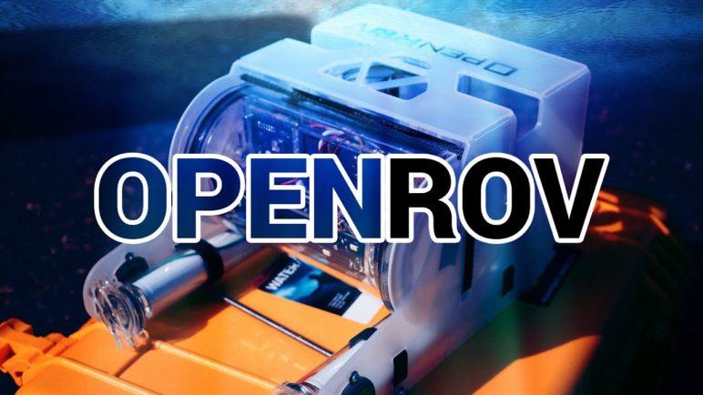 OpenRov - ponorka na dálkové ovládání